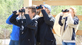 students bird watching 2