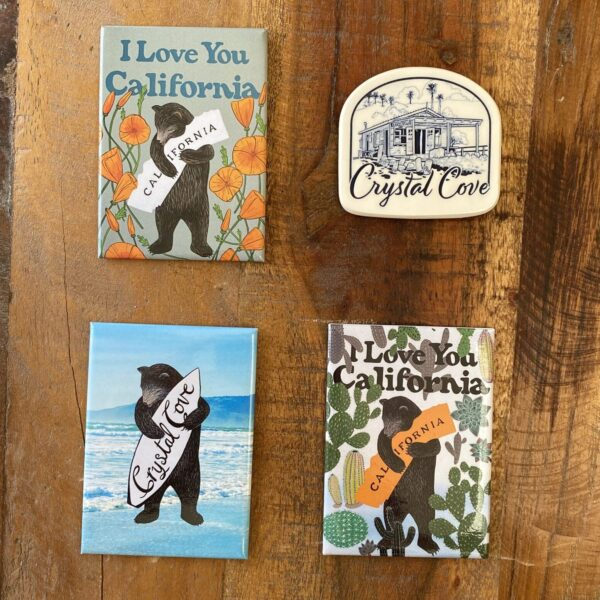 A photo of the magnets available for sale