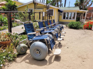 Beach Wheelchairs located near the Historic District